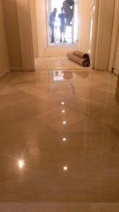 Pavimento in marmo di Trani